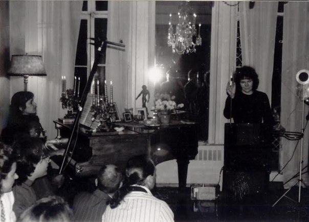 Наталья Термен в Нью-Йорке