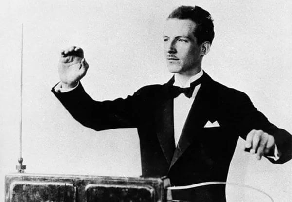 Leon Theremin and theremin